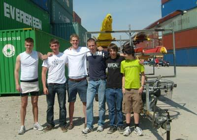 Teilnehmer der Regatta