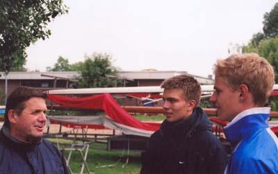 Werner Bergmann, Alexander Ivanov und Hendrik Hellhammer