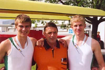Hendrik Hellhammer, Werner Bergmann und  Alexander Ivanow